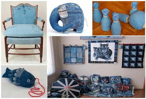 как сделать из старых вещей диванные подушки 2