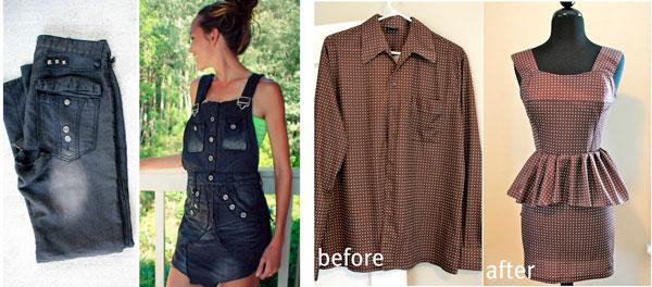 Как сделать из старой одежды новую