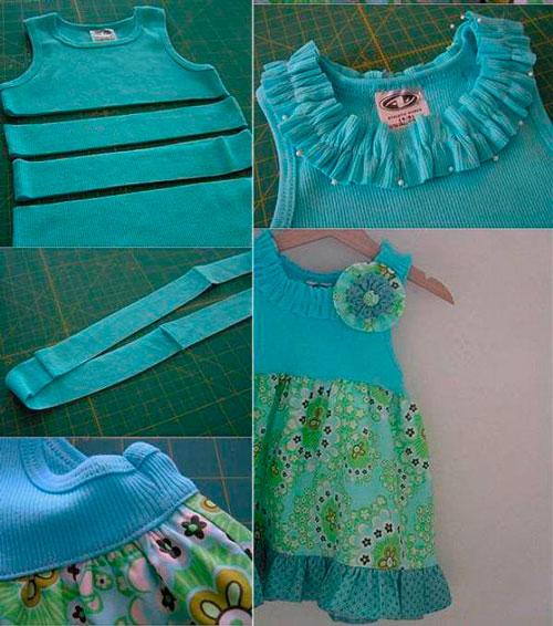 Как сделать из старой одежды новую 4
