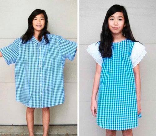 Как сделать из старой одежды новую 5
