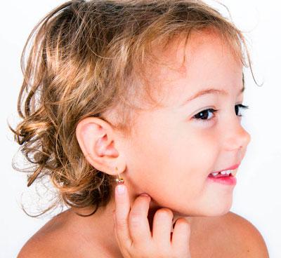 уход за проколытами ушами у девочки