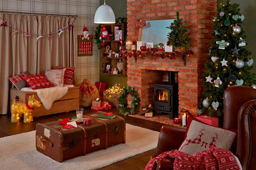 Как украсить квартиру к Новому году Кантри-стиль 2