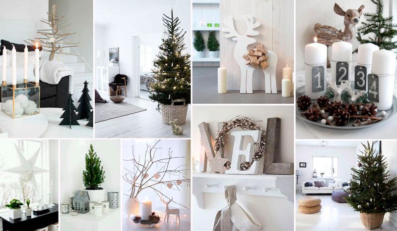 украсить квартиру к Новому году скандинавский стиль 2