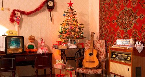 Как украсить квартиру к Новому году Советский стиль 2