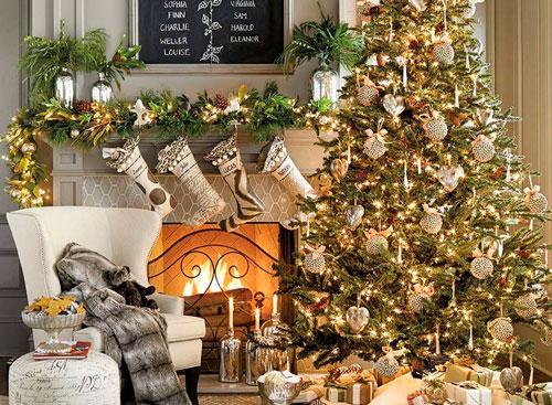 Как украсить квартиру к Новому году В стиле Белого Быка 3