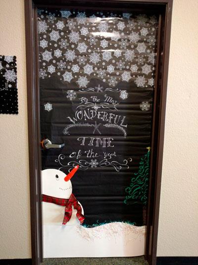украшаем окна к новому году 4