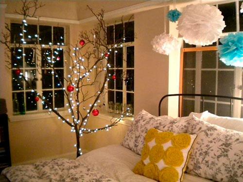 украсить квартиру к новому году своими руками 3