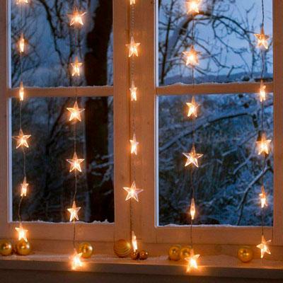 украшаем окна к новому году 2