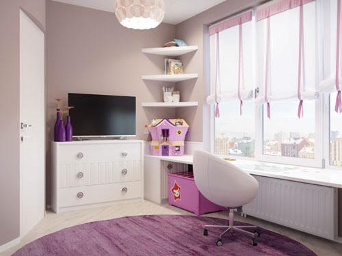 Какой цвет выбрать для детской комнаты школьника 4