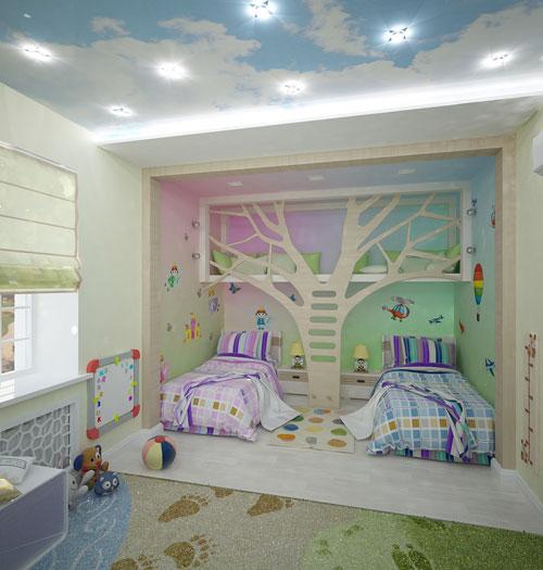 Какой цвет выбрать для детской девочки и мальчика