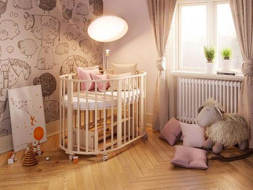 Какой цвет выбрать для детской малыша 2
