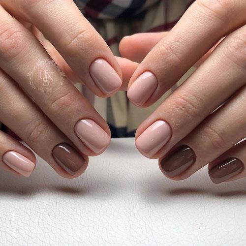 красивая форма на короткие ногти 2