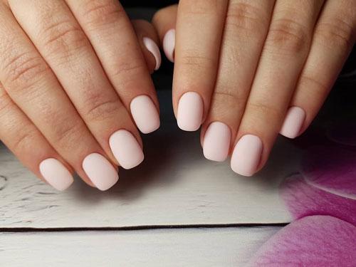 красивая форма на короткие ногти 3
