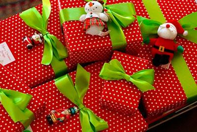 красивая упаковка подарка своими руками на новый год 6