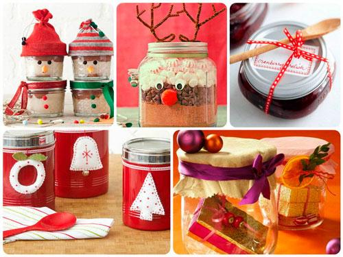 красиво упаковать подарки на Новый год 11