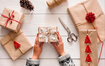красивая упаковка подарка своими руками на новый год 4