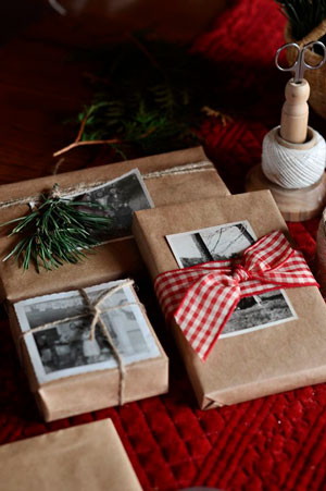 оригинальная упаковка подарка на новый год с фото