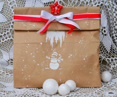 красивая упаковка подарка своими руками на новый год