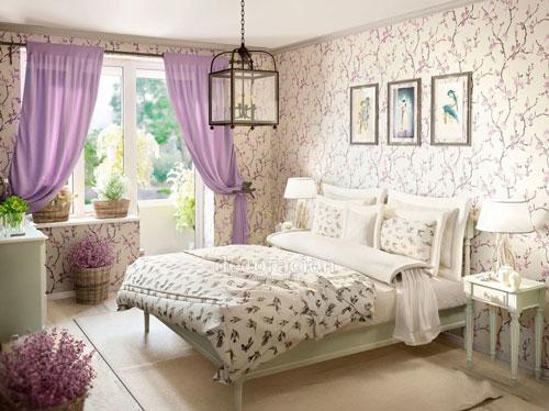 спальни в стиле прованс в квартире