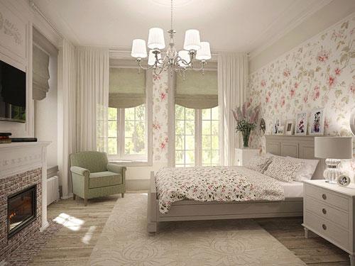 маленькая спальня в стиле прованс 2