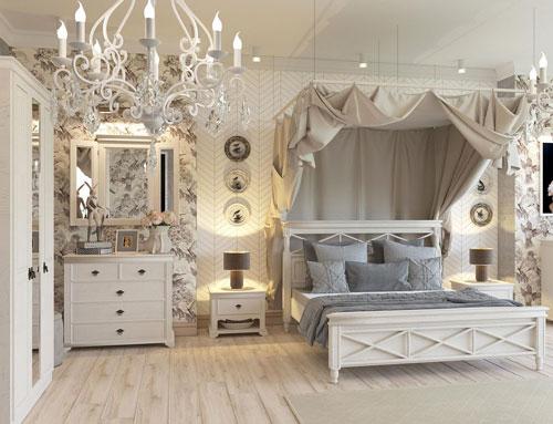 мебель для спальни в стиле прованс 10