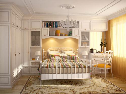мебель для спальни в стиле прованс 4