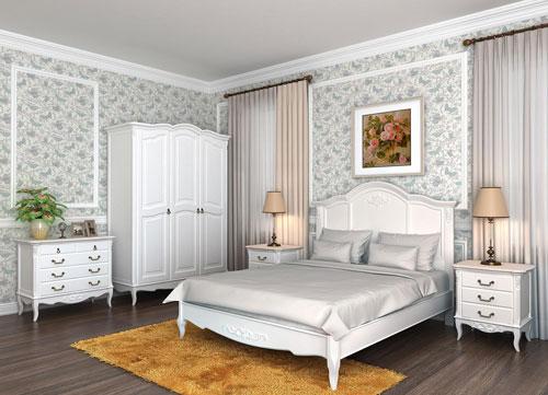 мебель для спальни в стиле прованс 7