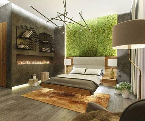 интерьер спальни в современном стиле 2