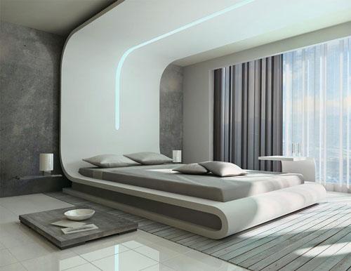 спальня дизайн интерьера в современном стиле 2