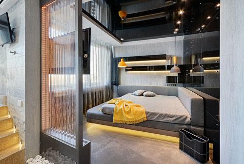 спальня дизайн интерьера в современном стиле 3