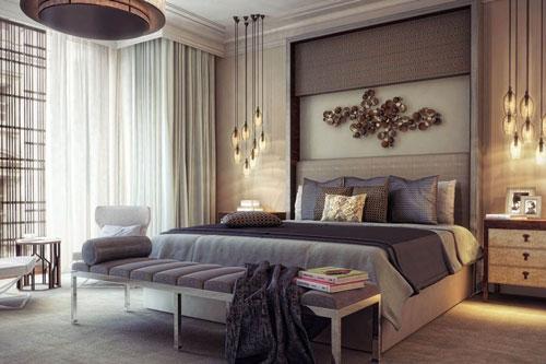 интерьер спальни в современном стиле фото 4