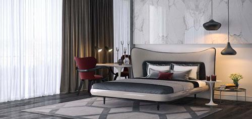 интерьер спальни в современном стиле фото
