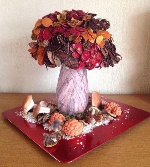 Идеи поделок на тему осень для детей 6