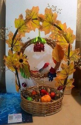 Идеи поделок на тему осень для детей 8