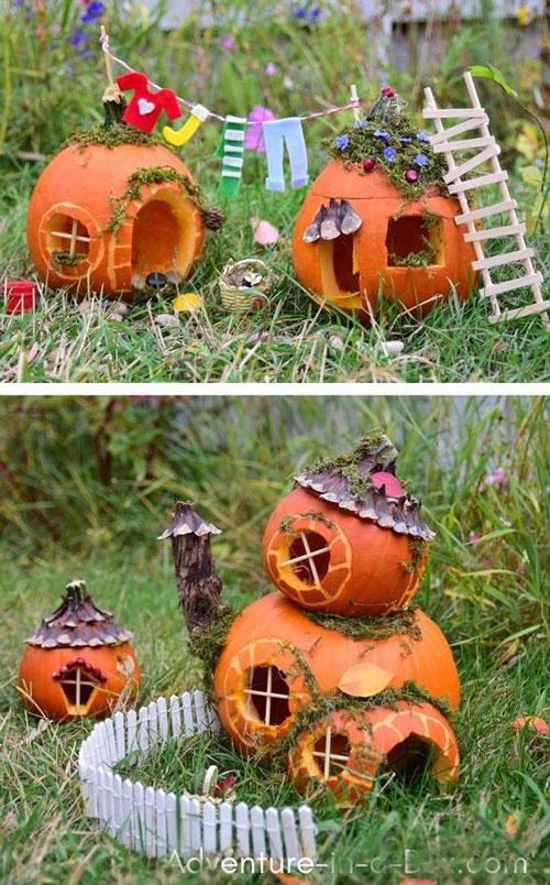 идеи поделок на тему осень для взрослых и детей 11