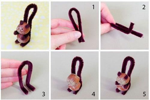 Простые поделки своими руками для ребенка из проволоки 2