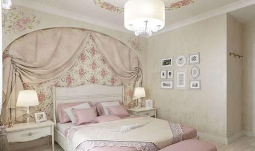 спальня в стиле прованс в загородном доме 3
