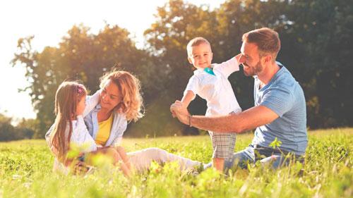 Красивые стихи про семью для детей