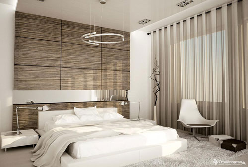 шторы в спальню в стиле модерн 2