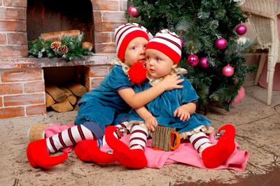 создайте новогоднее настроение детям