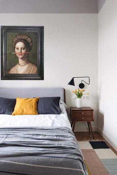 интерьер спальни в скандинавском стиле 4
