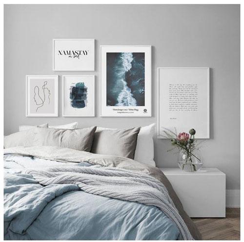 интерьер спальни в скандинавском стиле 3