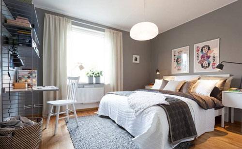 интерьер спальни в скандинавском стиле 2