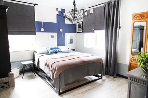 спальня в доме в скандинавском стиле 8