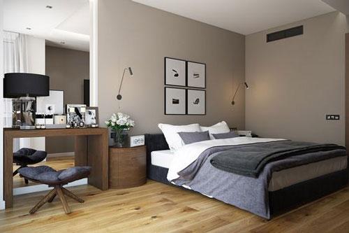 спальня в доме в скандинавском стиле 4