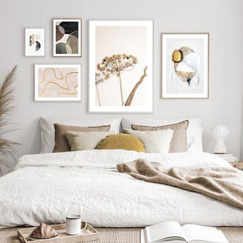 спальня в доме в скандинавском стиле 2
