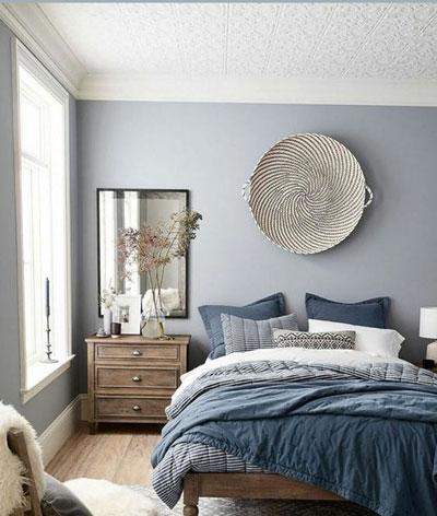 фото интерьера спальни в скандинавском стиле 9