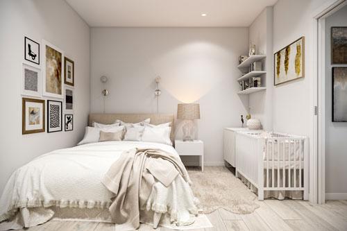фото интерьера спальни в скандинавском стиле 7