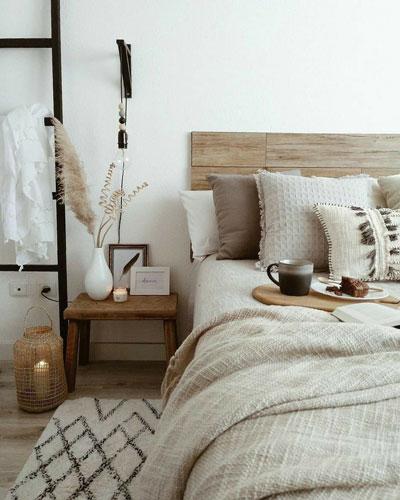 фото интерьера спальни в скандинавском стиле 6