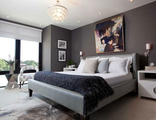 спальни в стиле модерн в светлых тонах 9